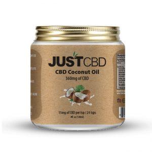 JUST CBD coconut oil 360mg