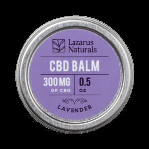 Lazarus naturals CBD salve balm 300mg Lavender